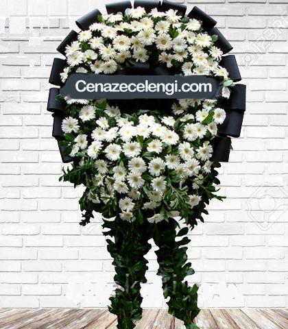 Cenaze Çelengi Beyaz Fatih