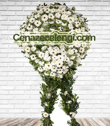 Cenaze Çelengi Beyaz Zincirlikuyu 2