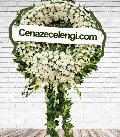 Cenaze Çelengi Beyaz İstanbul 3